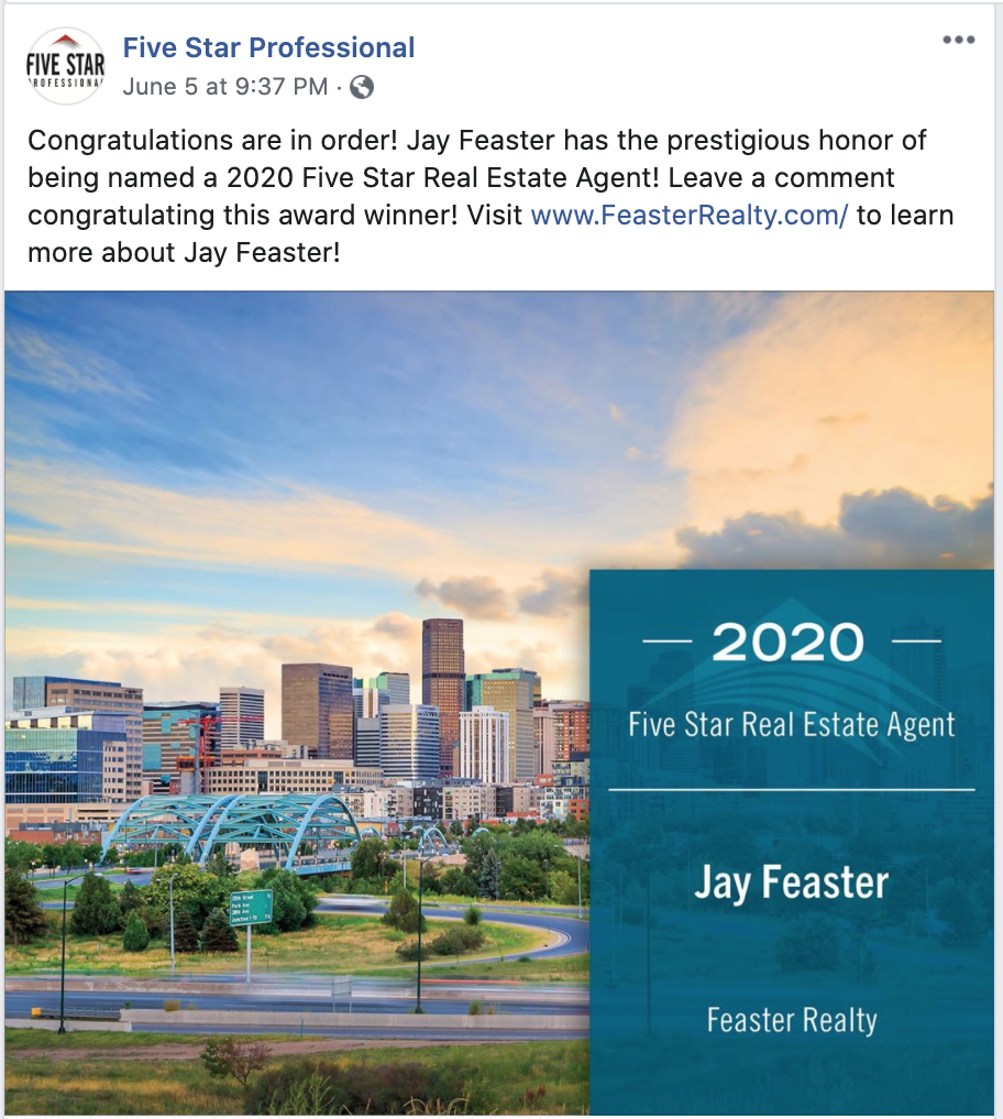 Jay Feaster - Top Denver Real Estate Agent