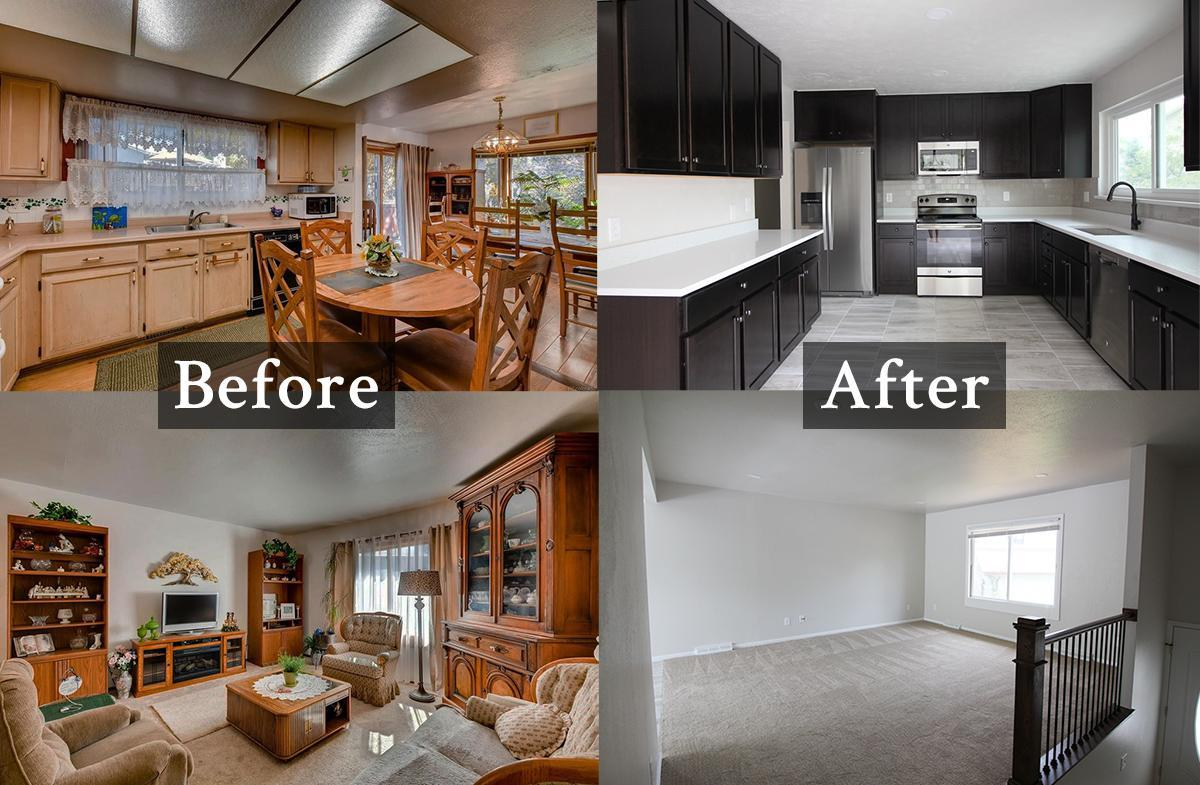 Denver real estate investment - reno before & after photos