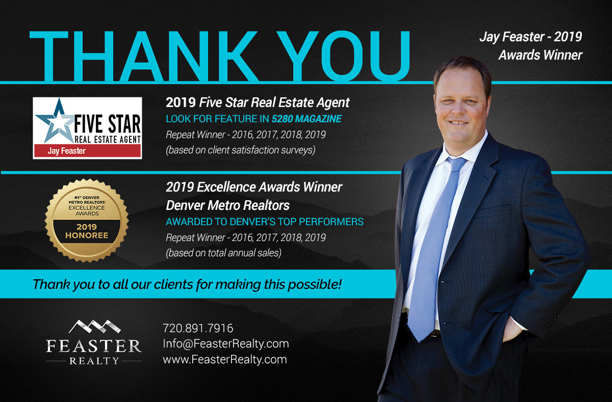 Jay Feaster Wins Denver Realtor Awards