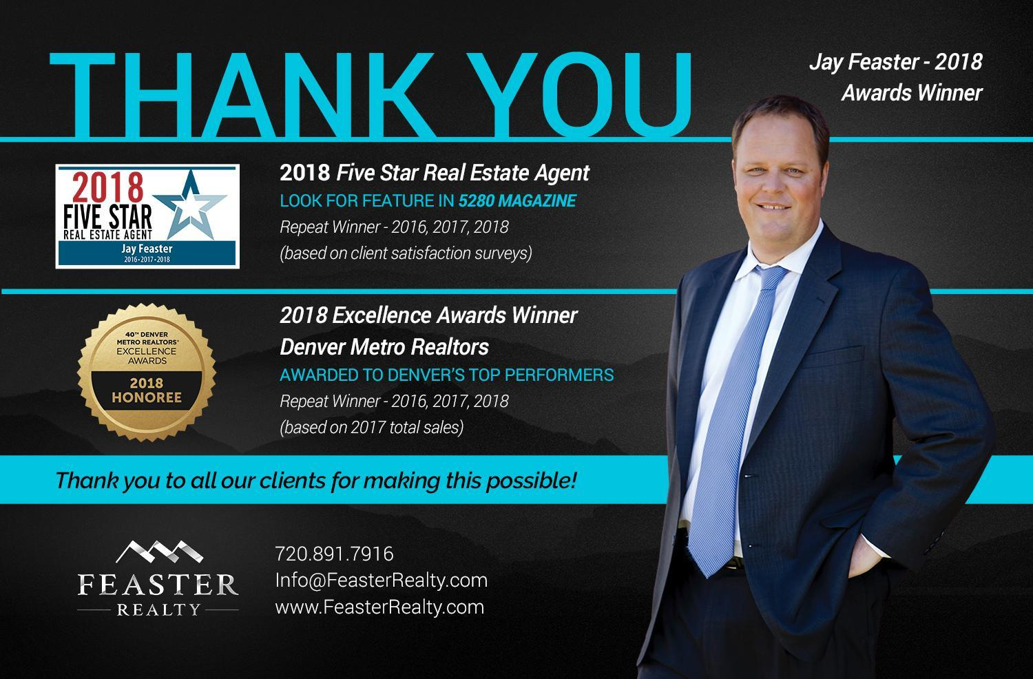 Jay Feaster, top denver real estate agent