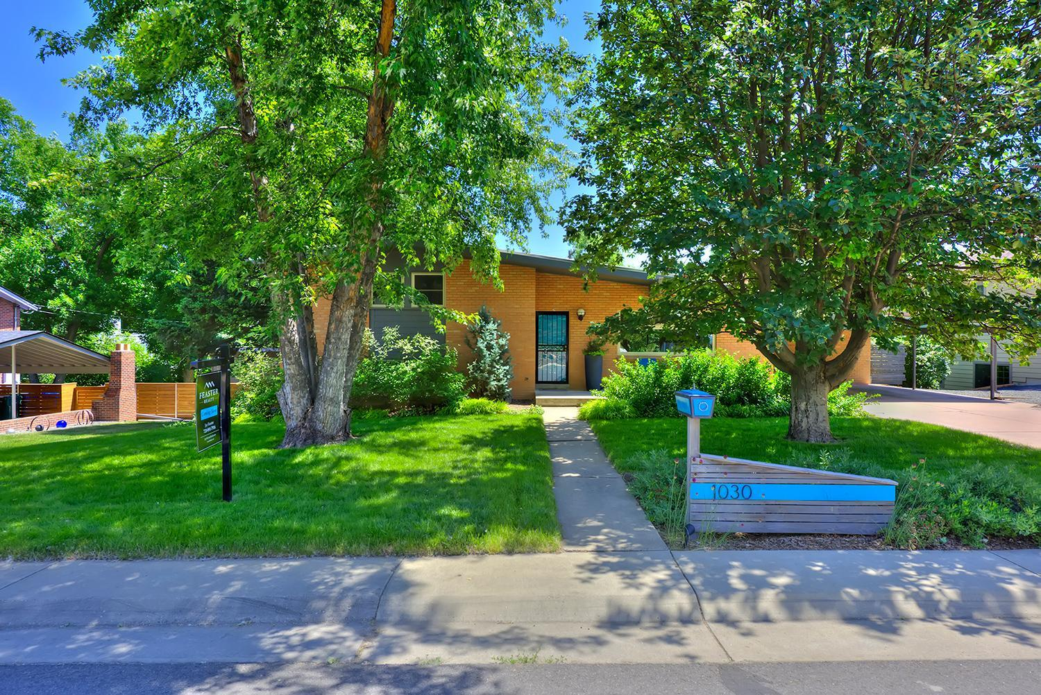 Chic, Mid-Century Modern Home for Sale in Golden, CO