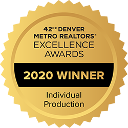 Jay Feaster, Denver Metro Association of Realtors Excellence Award Winner 2020