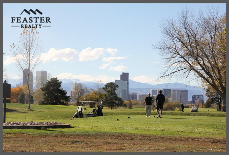 Golf Course Near Park Hill Denver