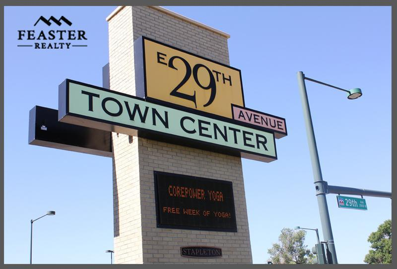 E 29th Ave Town Center Stapleton