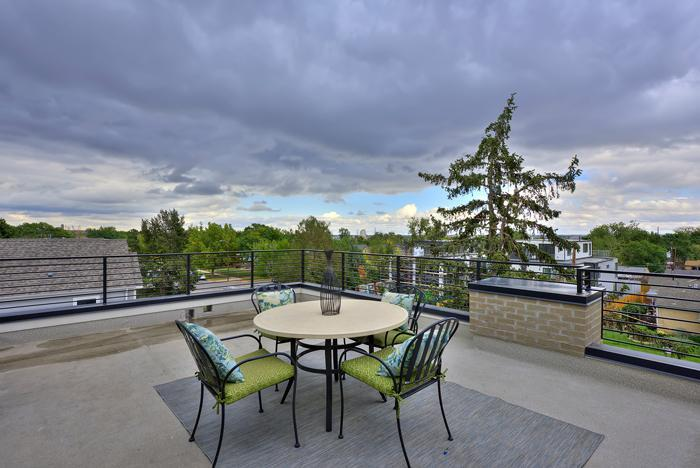 Modern Duplex Feaster Realty Rooftop View