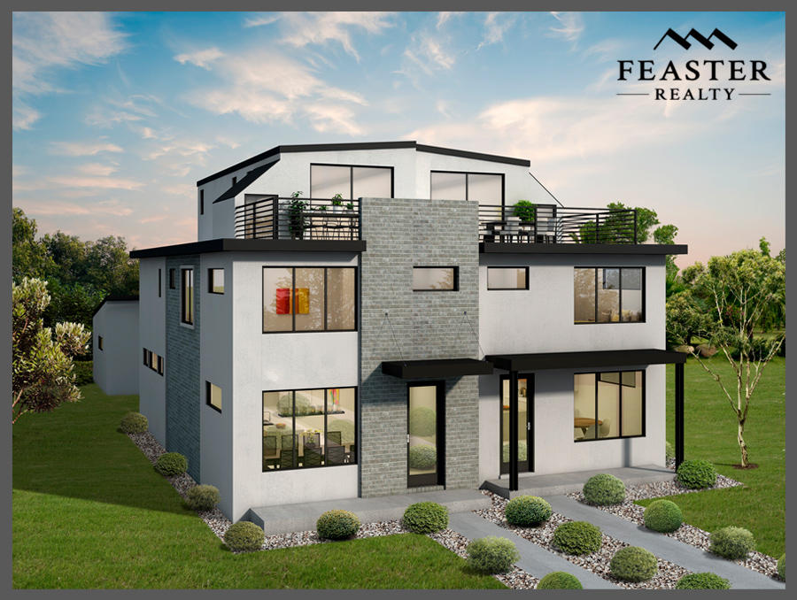 Modern Duplex Denver | 4270 Raleigh St Denver | Feaster Realty
