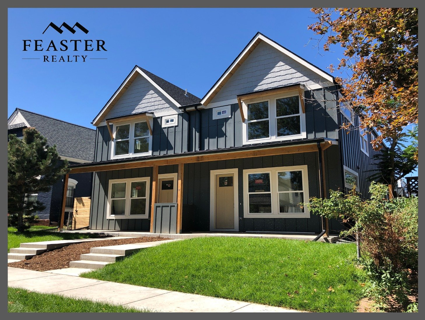 New Construction Duplex in Denver Berkeley CO | Feaster Realty