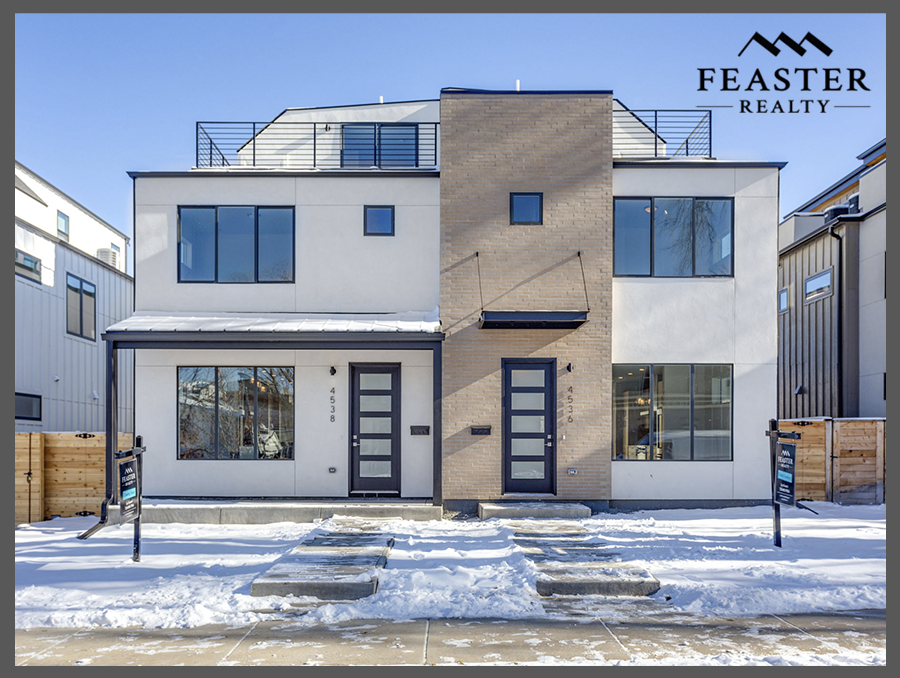 Modern Duplex For Sale in Denver's Berkeley Neighborhood - 4538 Stuart St.