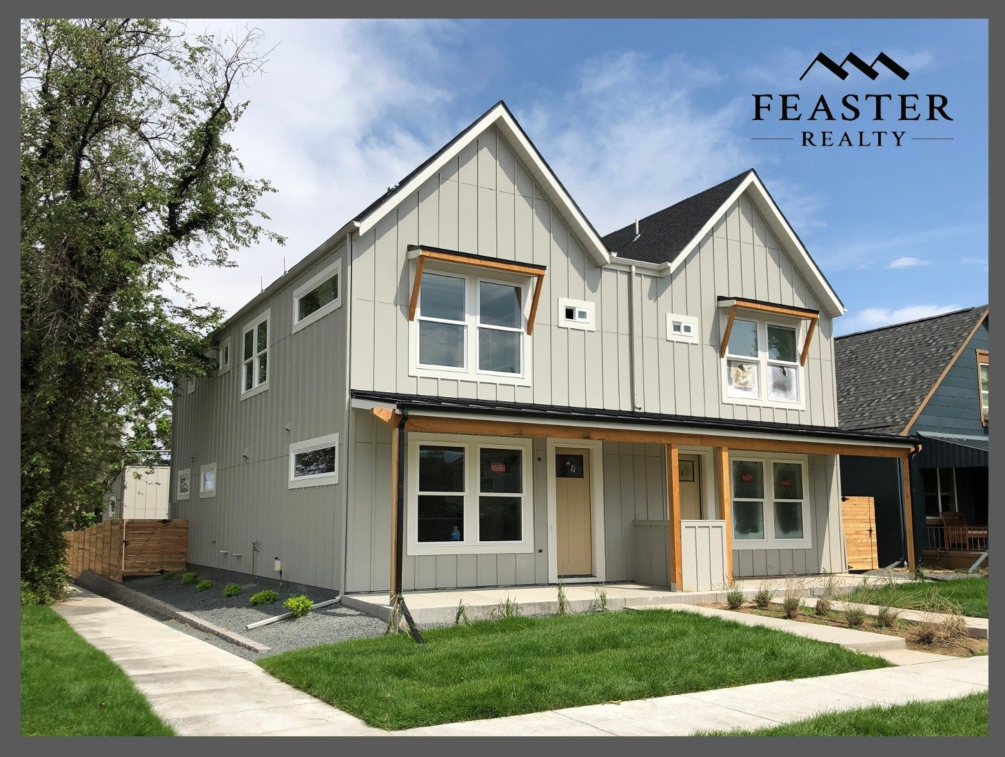 New Modern Farmhouse in Sunnyside Denver CO | Feaster Realty