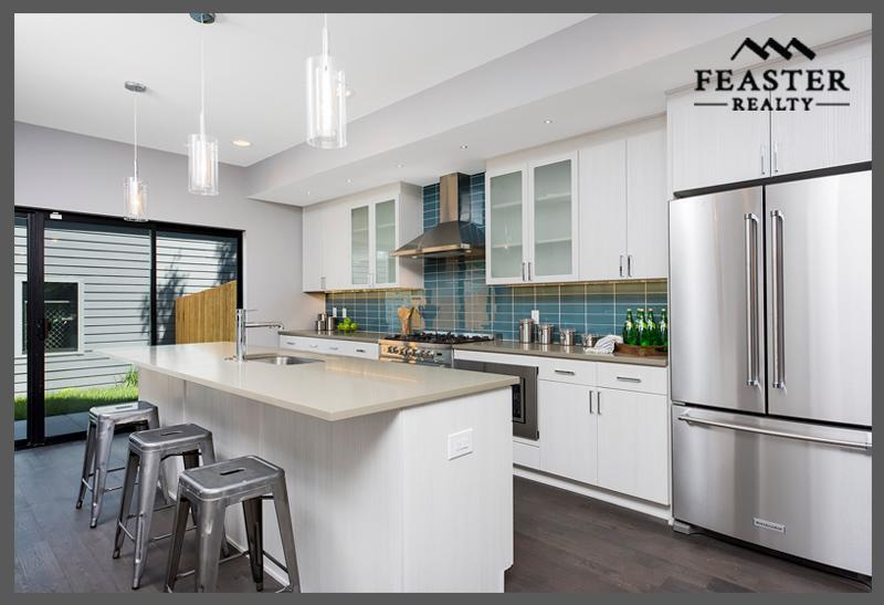 Modern Duplex Denver Kitchen