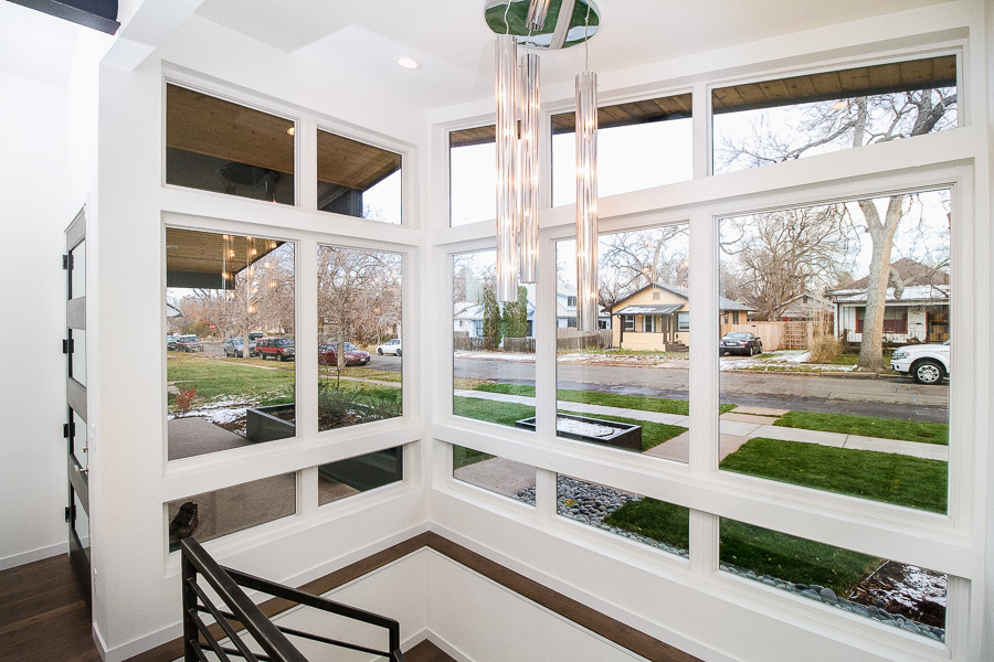Mid-Century Modern Windows - Custom Home Build