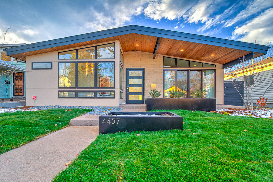 Custom build home tips guide to building a new mid for Mid century modern homes denver